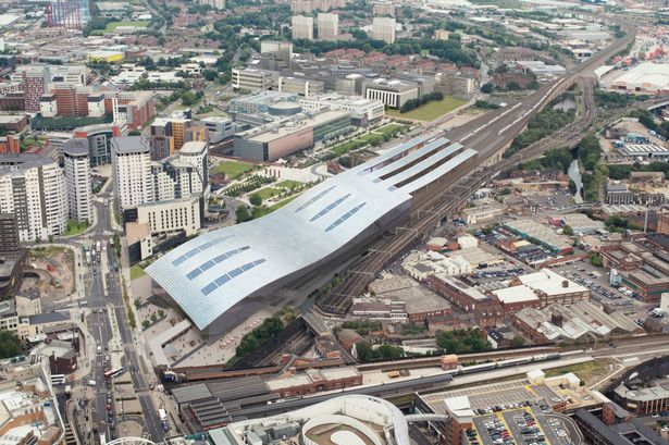 Car Parking At Birmingham International Train Station